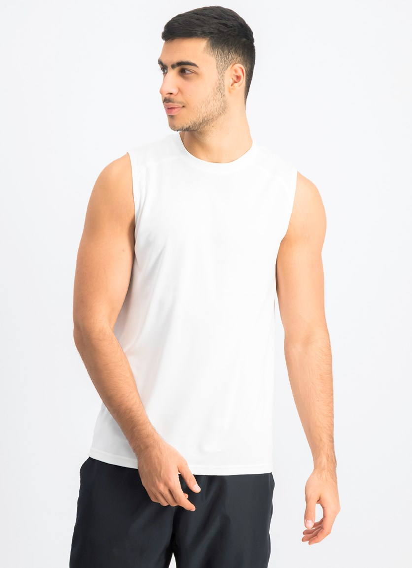 Men's Sports Muscle Tee, White