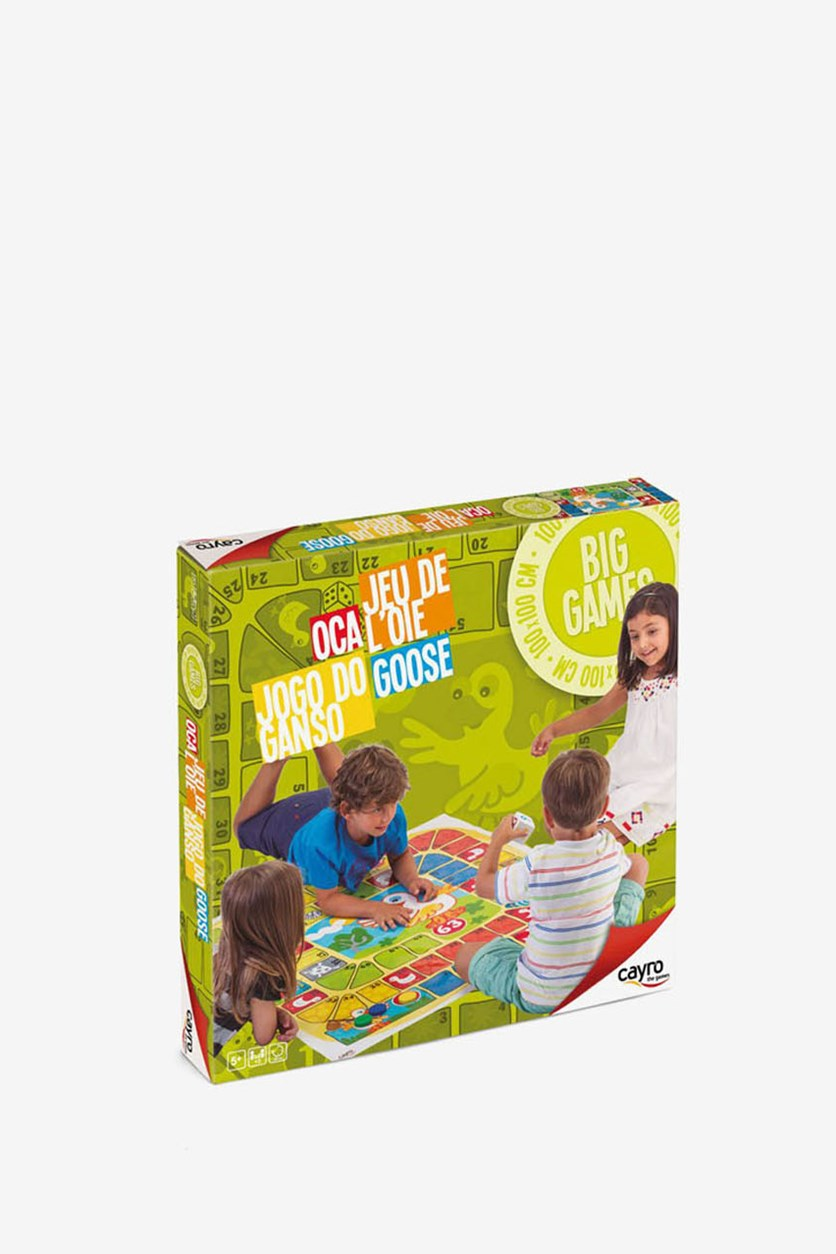 Goose Board And Card Games, Green Combo