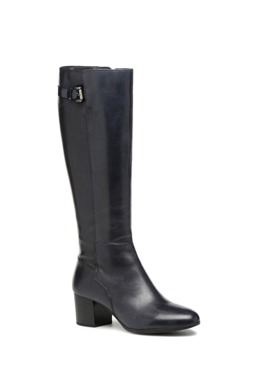 Women's Petalus Boots, Dark Navy