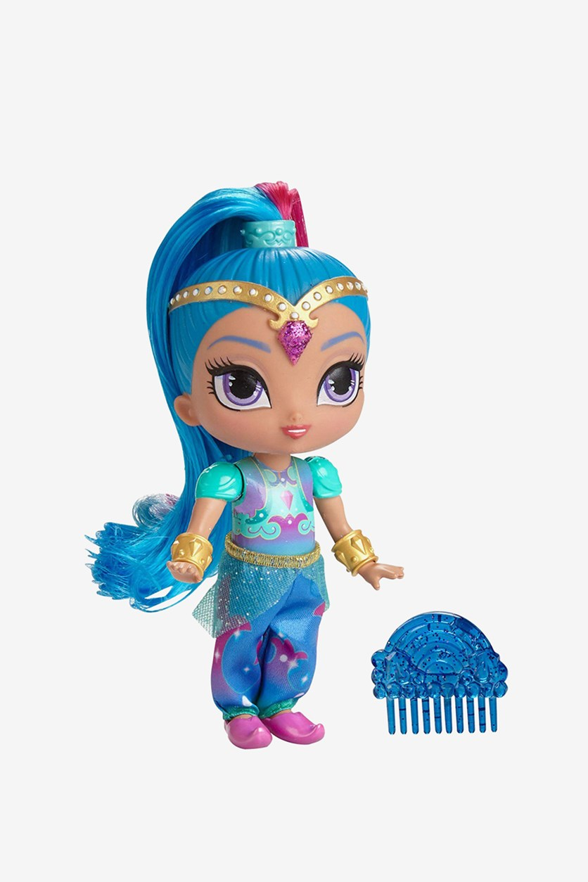 Nickelodeon Rainbow Doll Shine, Blue Combo
