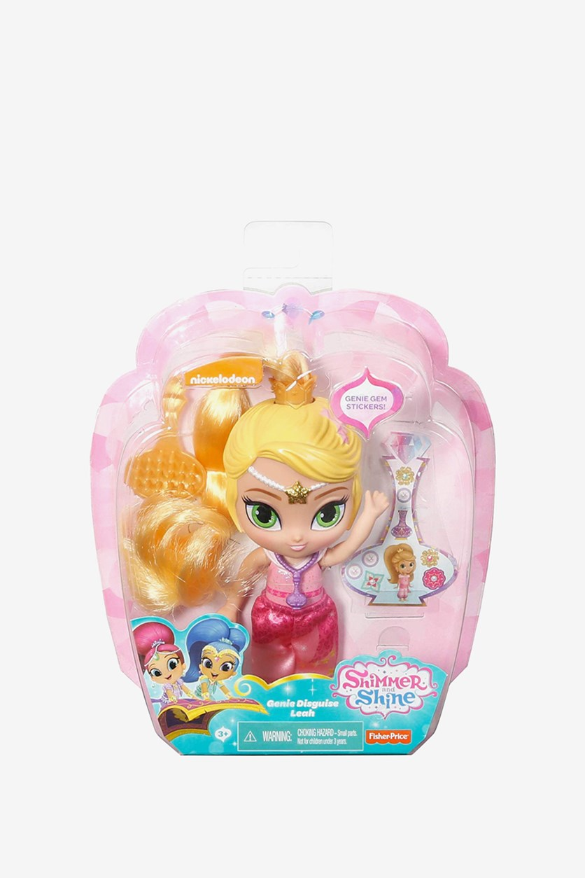 Nickelodeon Shimmer and Shine Genie Leah Dolls, Yellow