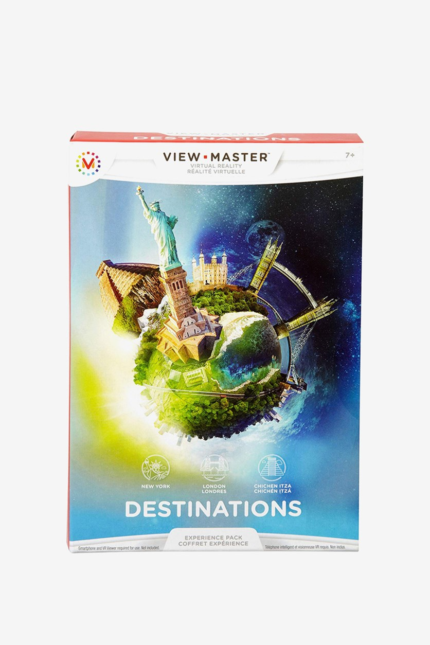 View-Master Experience Pack Destinations, Blue/White