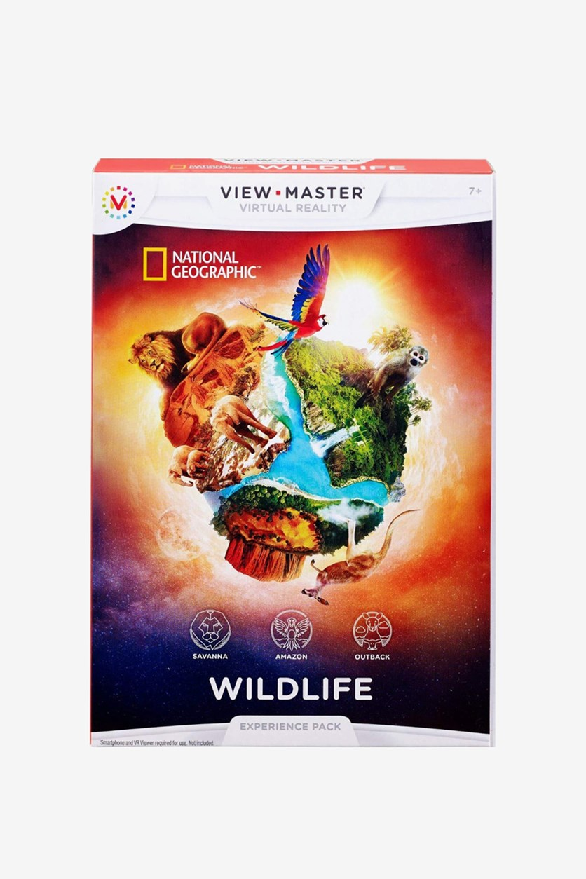 National Geographic View Master Educational Toys, Red Combo