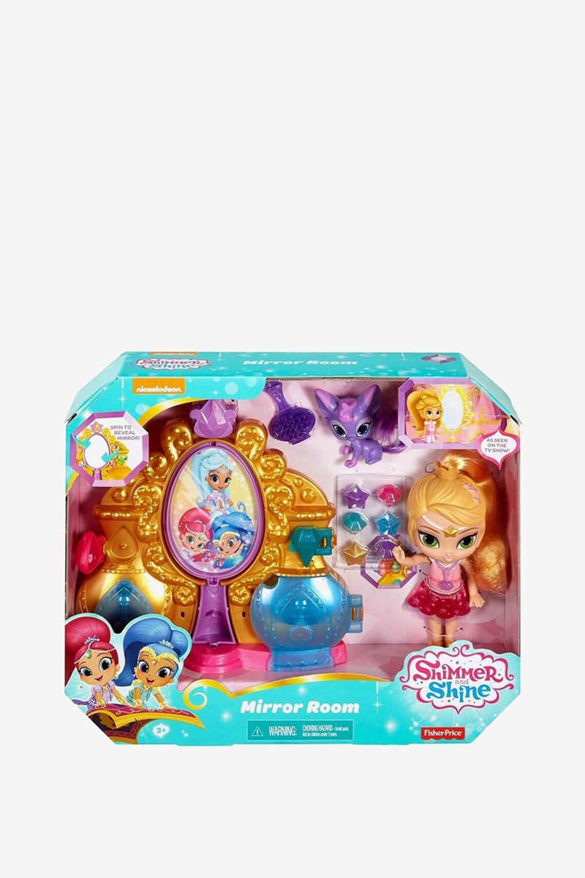 Shimmer and Shine Mirror Room Playset, Pink Combo
