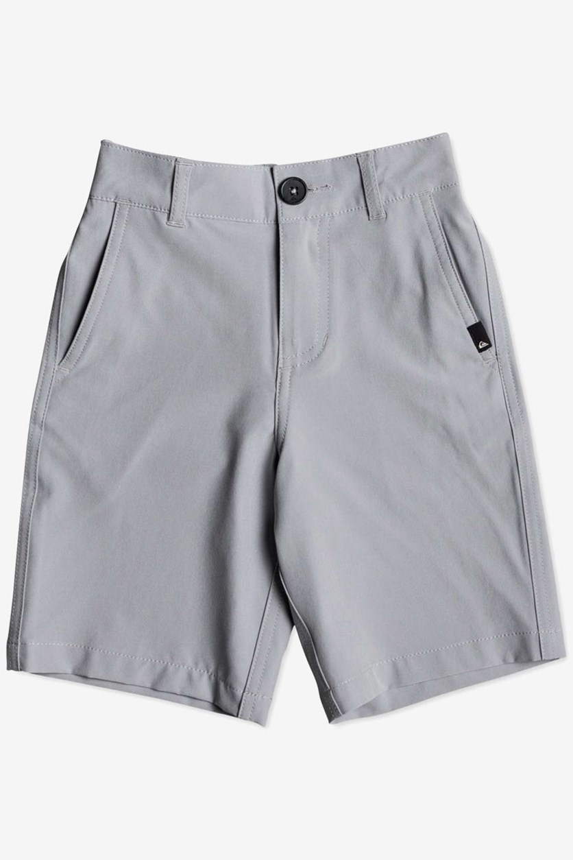 Little Boy's Amphibian Shorts, Grey