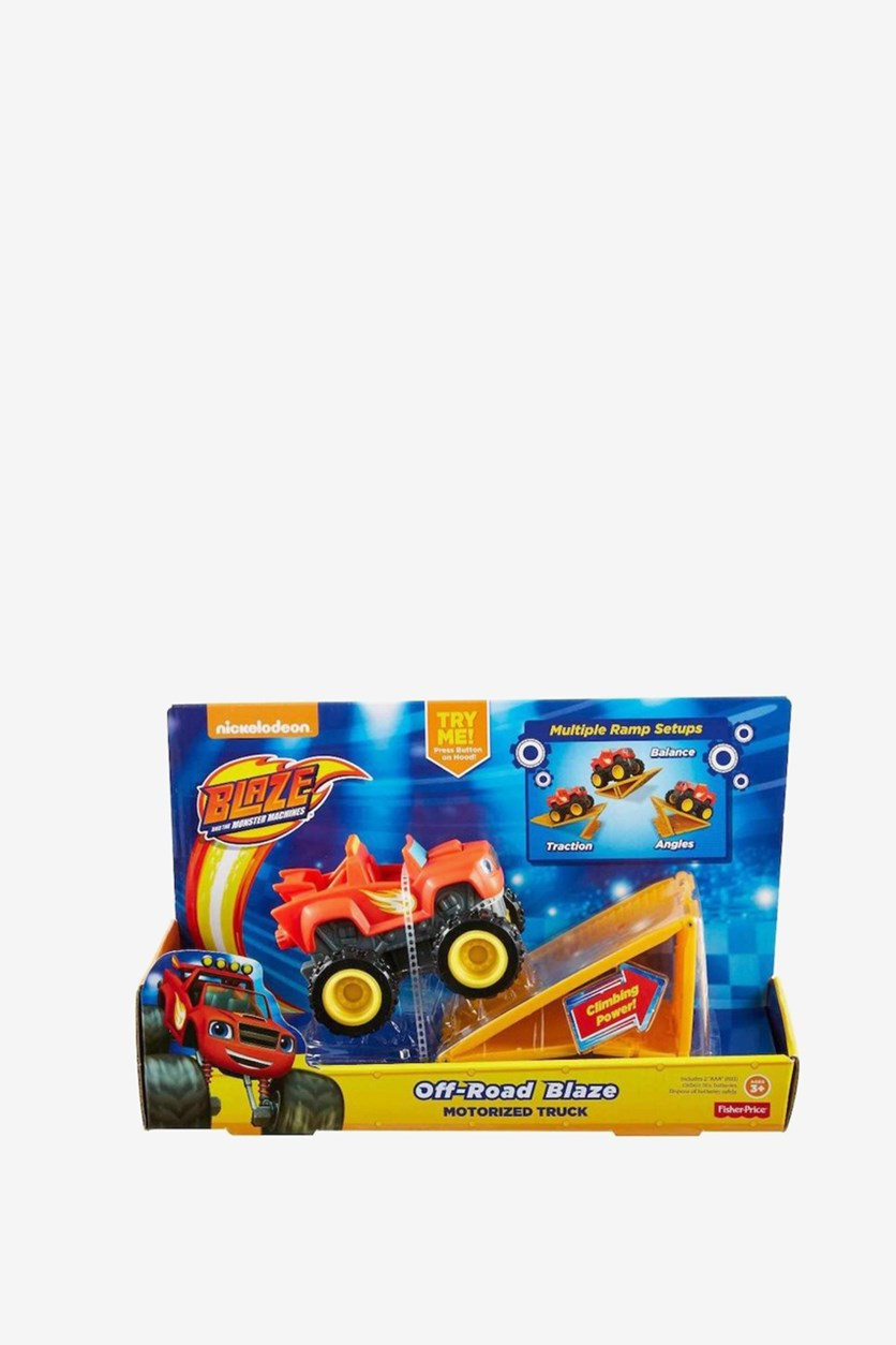 Blaze And Mega Machines  Off-Road, Red/Yellow/Blsck