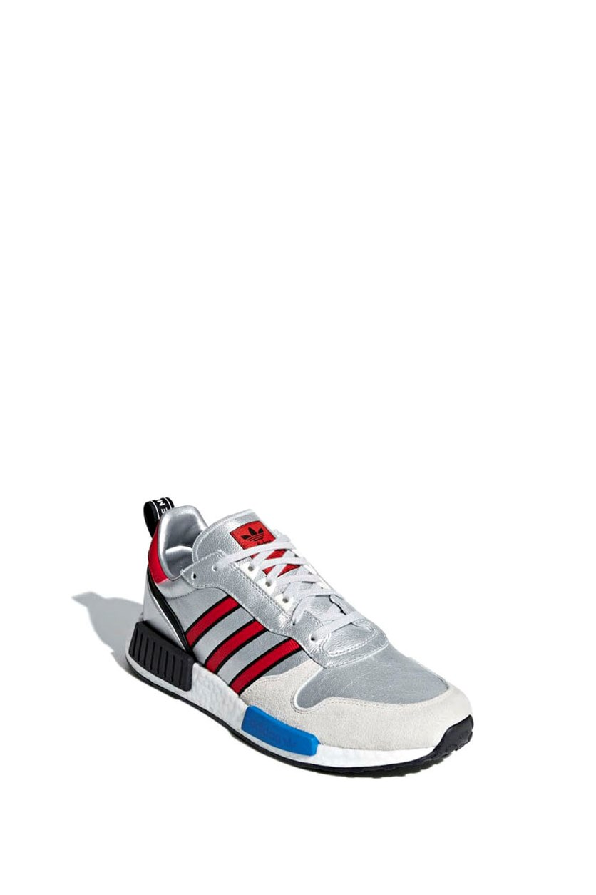 Men's Rising Star x R1 Shoes, Grey/Blue/Red/Black/White