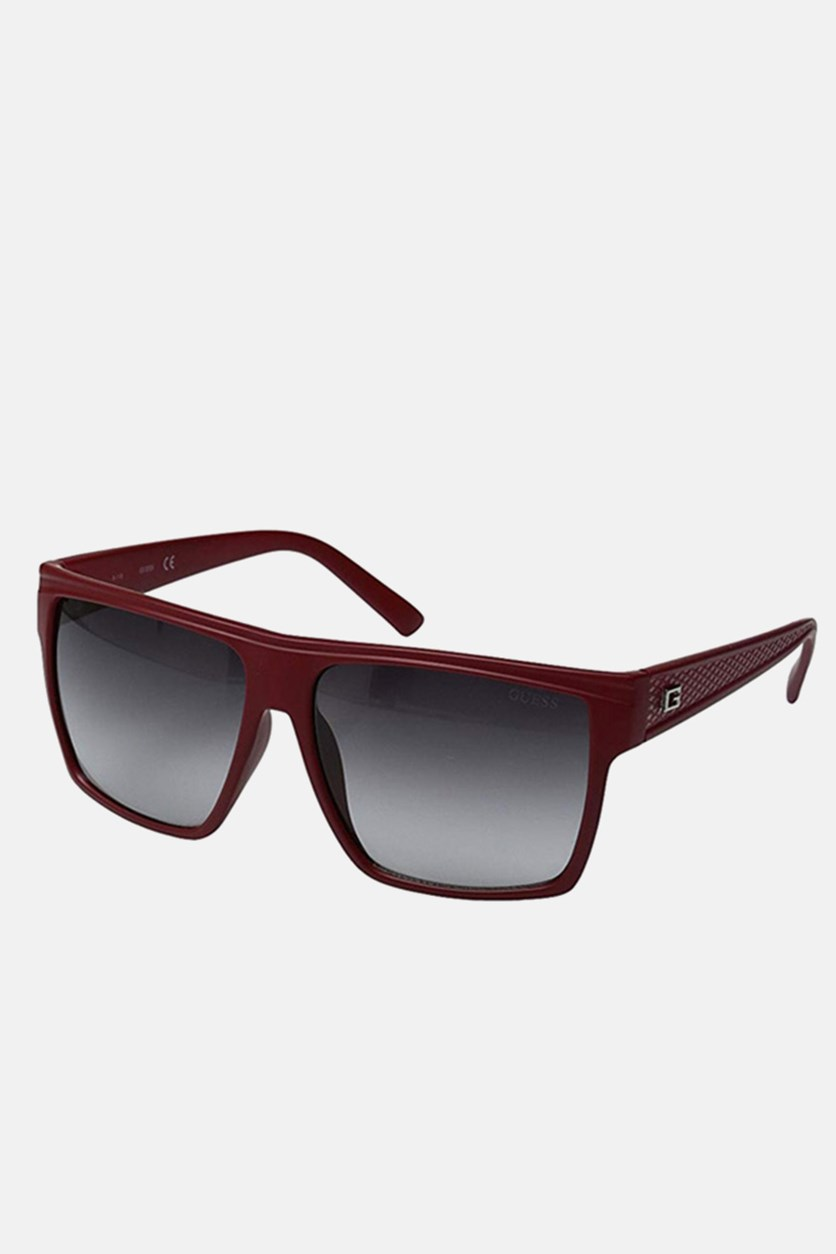 Women's GF0158 Fashion Sunglasses, Matte Red