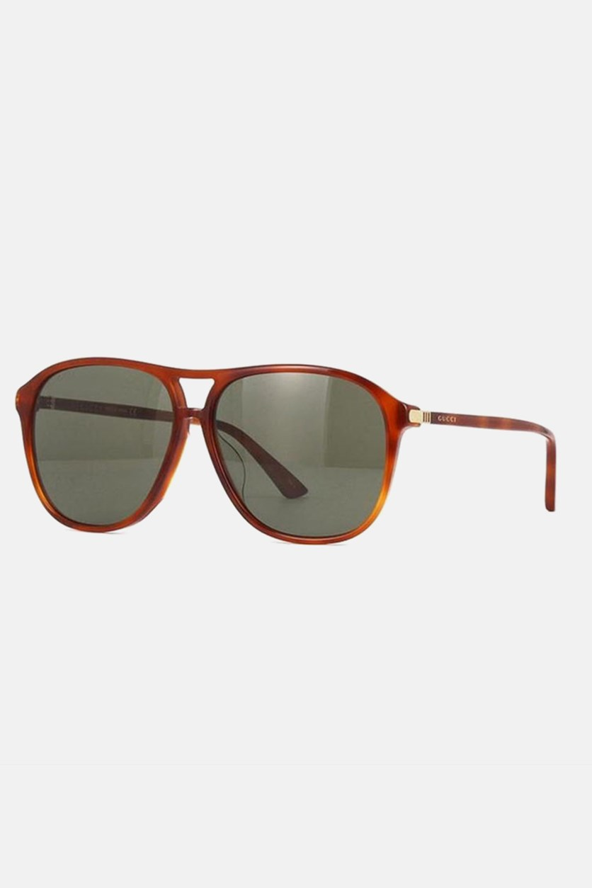 Women's GG0016SA 004 Asian Fit Sunglasses, Brown