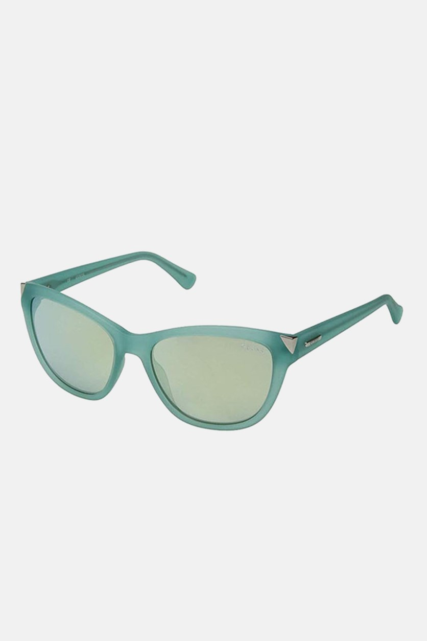 Women's GU7398 Fashion Sunglasses, Turquoise