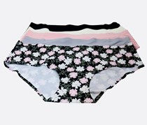 Ymi 5 Pack Hipster,  Black/Off White/Pink/Grey