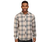 Men's Fremont Plaid Flannel Shirt, Tan