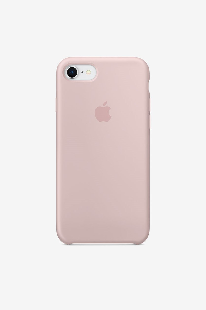 Iphone 8 Silicone Case, Pink Sand