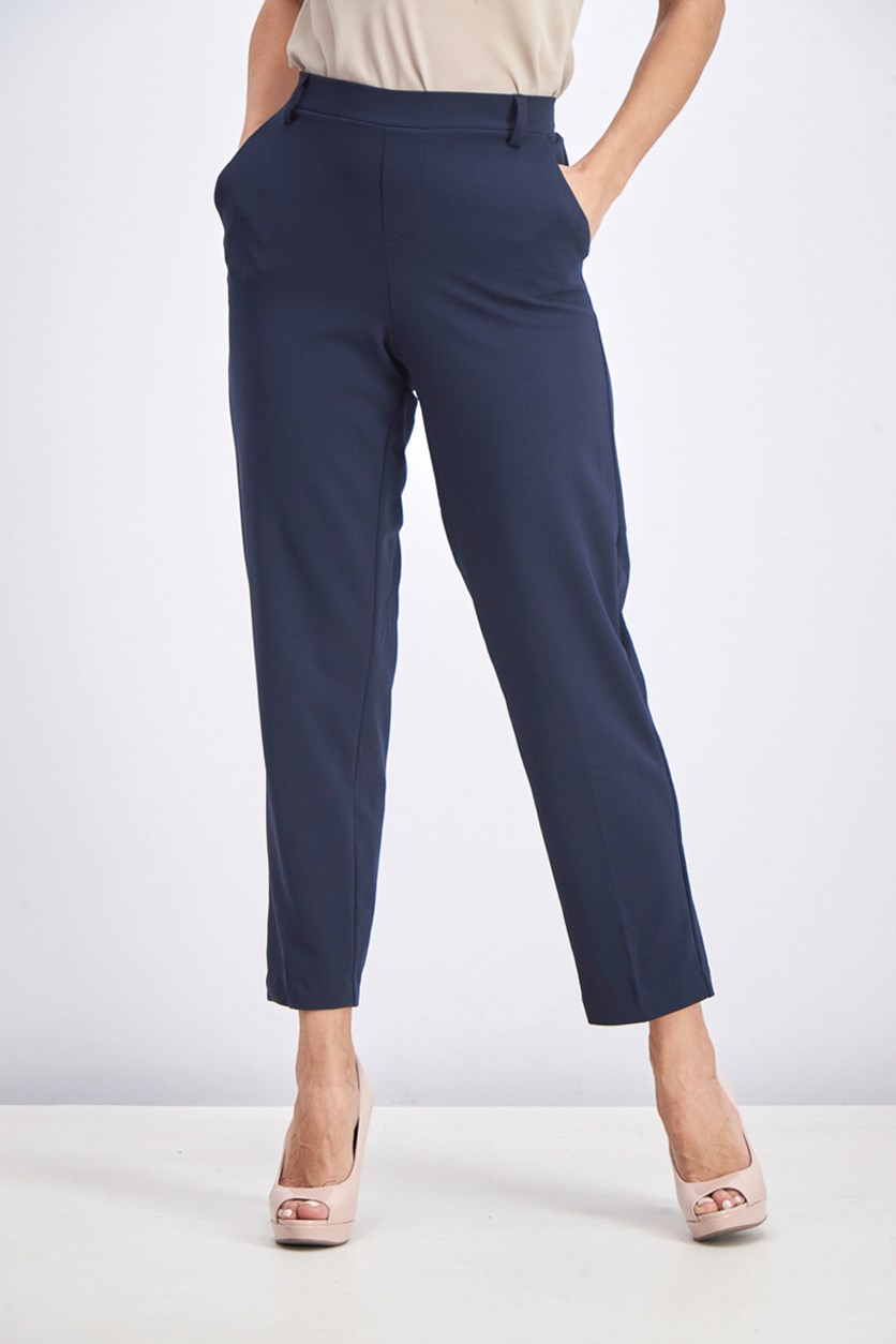 Women's Lina Skiny Capri Pants, Navy