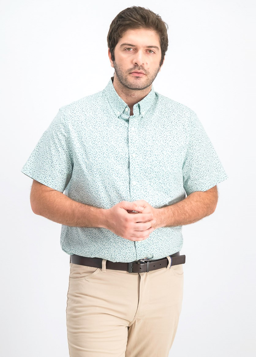 Men's Regular Shirt, Mint Combo