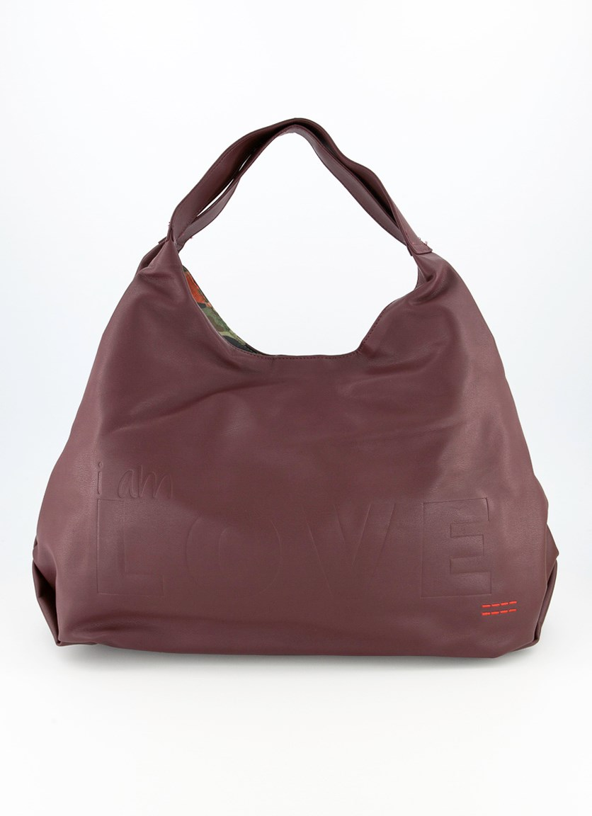 Women's Satchel Bag, Maroon