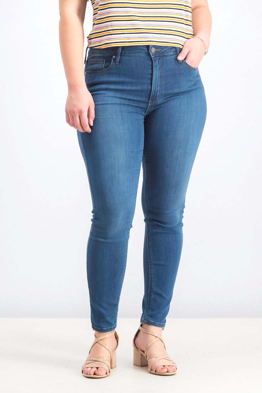 Women's Skinny Denim Jeans, Blue