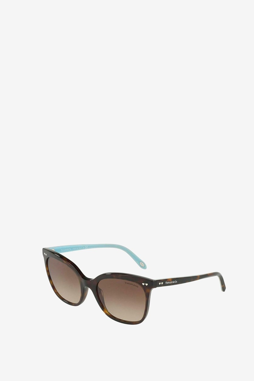 Women's  TF4140-8015 Sunglasses, Brown/Blue