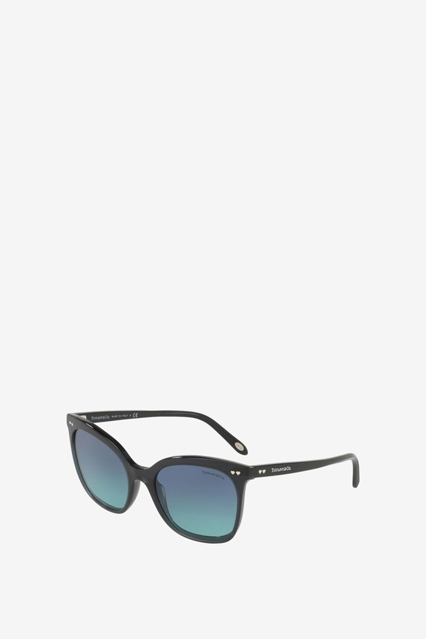 Women's TF4140-8232 Sunglasses, Black