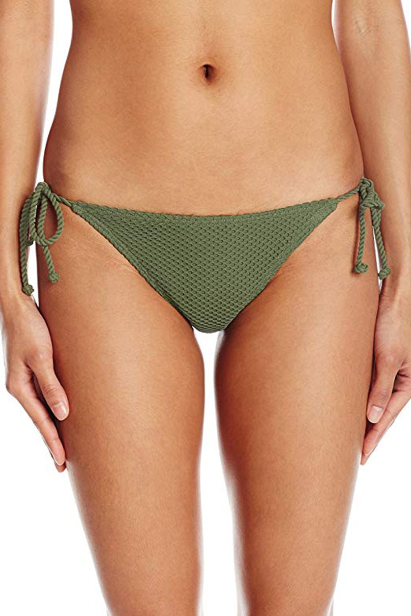 Women's Meshin With You Tropic Bikini Bottom, Seagrass