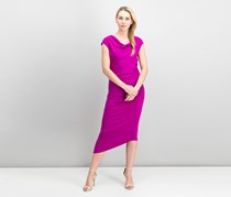 Vince Camuto Asymmetrical Midi Dress, Fuchsia Fury