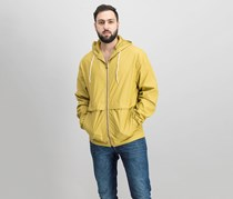 Weatherproof Vintage Men's Full-Zip Hooded Jacket, Fall Yellow