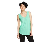 Merona  Women's Printed Back Shell Top, Mint Everest