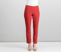 Eileen Fisher Slim-Pull-On Ankle Pants, Serrano