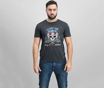 Flag & Anthem Yuma Racer Short Sleeve Tee, Charcoal Heather