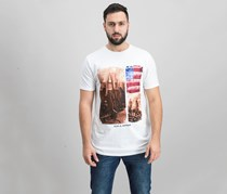 Flag & Anthem Men's USA Concert Tee, White
