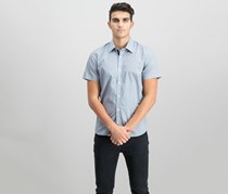 Mens Slim-Fit Shirt, Navy