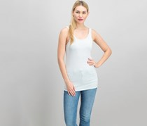 Women Sleeveless Top, Silver