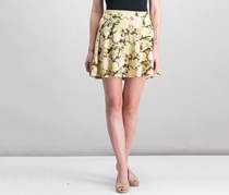 Show Me Your Mumu Women's Printed Skirt, Beige