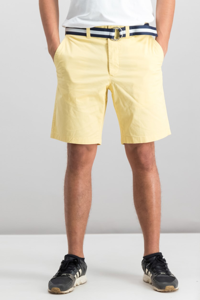 Mens Classic-Fit Stretch Shorts, Tortilla