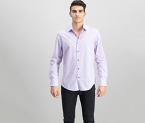 Alfani Modern Solid Shirt, Dawn Haze