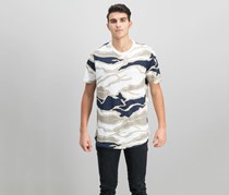 Sean John Men's Desert Dunes T-Shirt, Cream combo