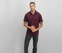 Alfani Men's Soft Touch Stretch Polo, Port