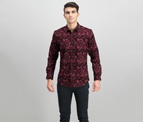INC International Concepts Kyle Shirt, Tango Red