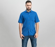 Tommy Bahama Mens Coastal San Clemente Shirt, Colonial Blue