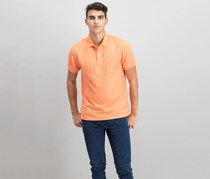 Club Room Classic-Fit Solid Performance Polo,  Mango Tango