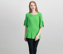 Karen Kane Bell-Sleeve Top, Grass