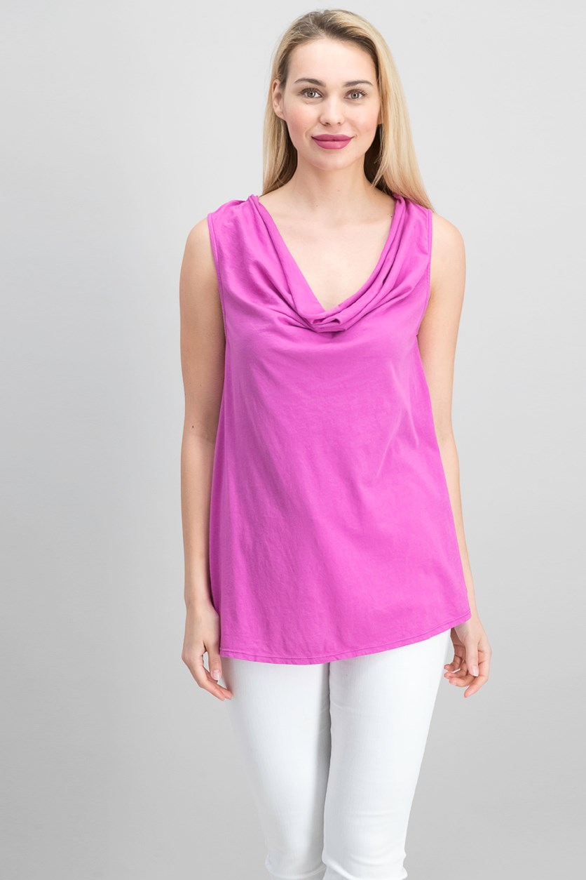 Women's Cowl Neck Top, Lily