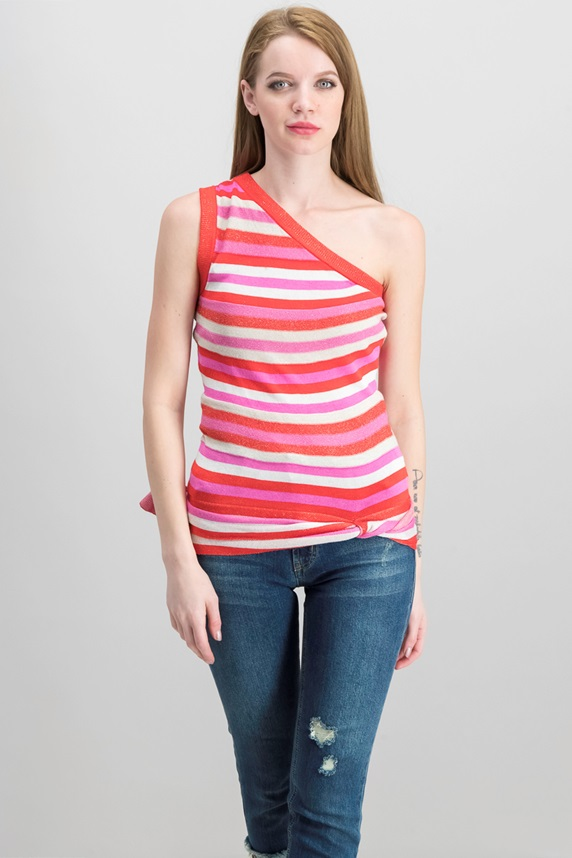 98813cce8646f Rachel Roy Striped One-Shoulder Top