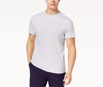 Club Room Mens Textured Stripe T-Shirt, Bright White