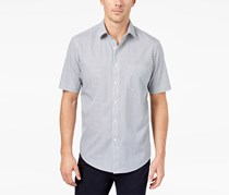 Club Room Men's Mini-Print Shirt, Bright White