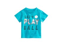 First Impressions Graphic-print T-Shirt, Caribbean Blue