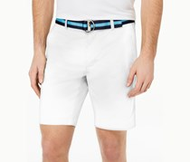 Club Room Men's Classic-Fit Stretch Shorts, Bright White