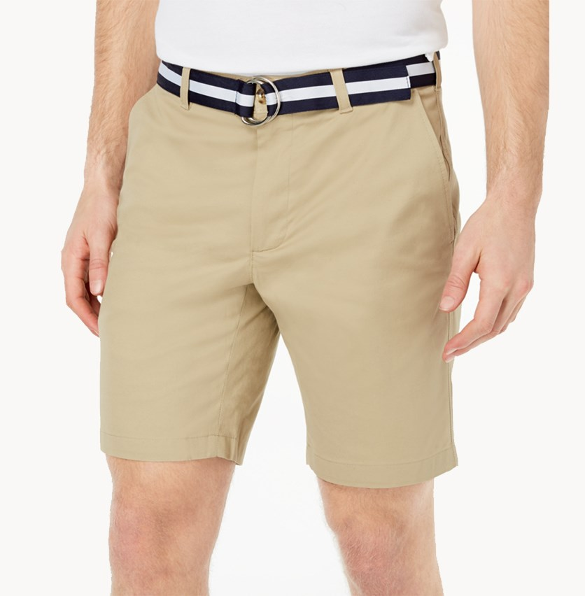 Men's Classic-Fit Stretch Shorts, Creek Bed