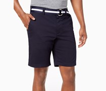 Men's Classic-Fit Stretch Shorts, Officer Navy
