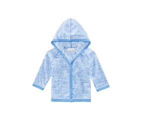 First Impressions Long-Sleeve Hooded Cover Up, Aristocrat Blue
